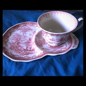 Royal Albert Tea Cup And Plate China Set